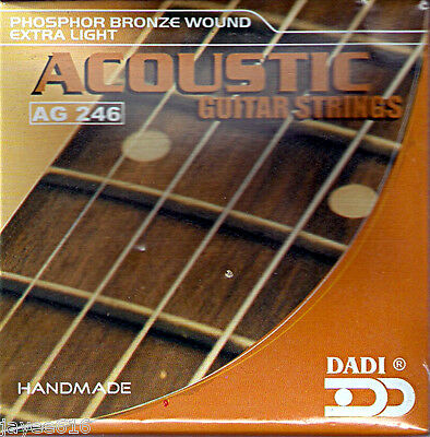 Acoustic Guitar Strings 10 - 48 Extra-Light UK