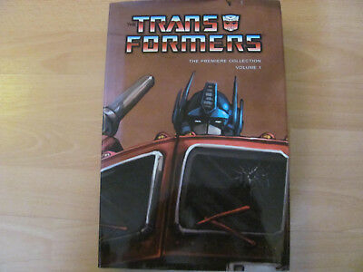 Transformers Premiere Edition Hardcover collection great condition IDW signed!