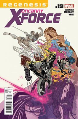 UNCANNY X-FORCE ISSUE 19 - SOLD OUT FIRST 1st PRINT - X-MEN REGENESIS