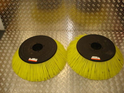 Hako 300 cleaning machine/sweeper/scrubber drier side brushes (x2).