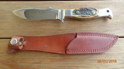 Rare 1980's Vintage Anschutz Firearms Hunting Knife - Made In Germany