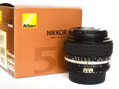 Nikon Nikkor 50mm f1.2 AI-s Lens and HS-12 Hood. NEW. Nikons fastest Lens.