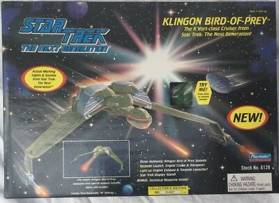 Star Trek The Next Generations Klingon Bird-of-prey Cruiser, Item No:6128