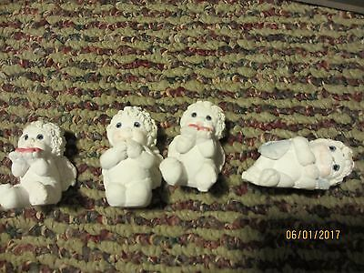 Dreamsicles Angel Cherub Small Lot Of 4