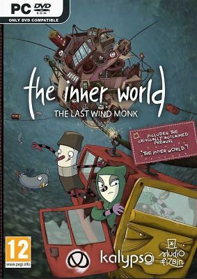 The Inner World - The Last Wind Monk PC DVD Brand New Sealed  - READ