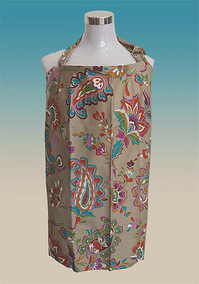 Brand New Breastfeeding Nursing Cover with Matching Bag. (Olive)