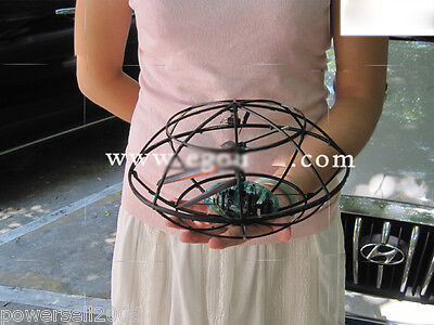 New Diameter 23CM Remote Control Plane Helicopter Flying Saucer Model Gift Toys