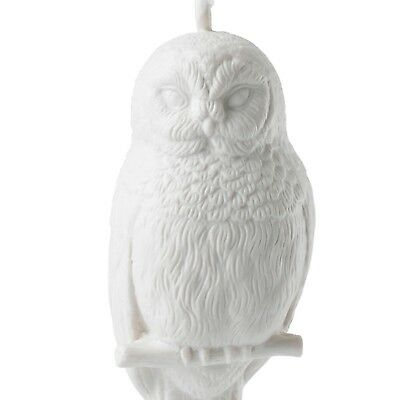Wedgwood Snowy White Owl Figurine Ornament Christmas NEW