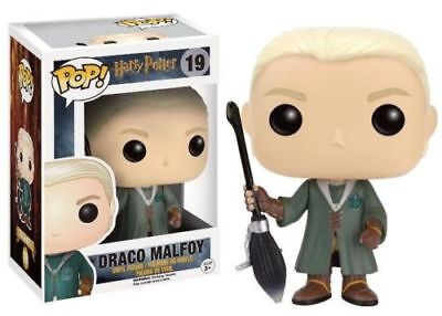 "Exclusive Harry Potter Draco Malfoy Quidditch 3.75"" Pop Vinyl Figure Funko"