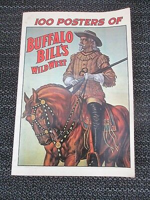 1976 100 Posters of BUFFALO BILL's  WILD WEST -    FREE SHIPPING