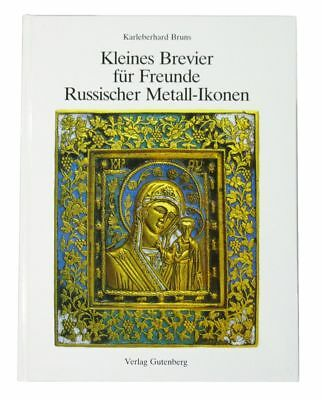 BOOK Russian Metal Icon & Cross Art medieval religious Byzantine plaque bronze