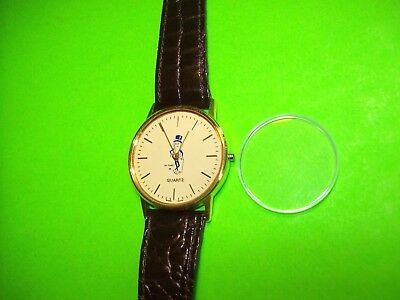 Planters Peanuts Mr Peanut Original Leather Band Vintage Watch Not Working