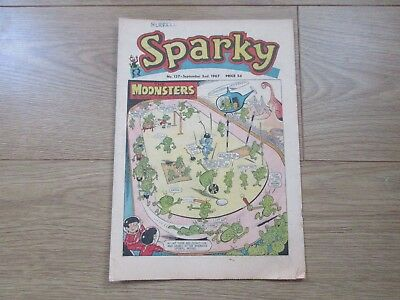 SPARKY COMIC No 137 - SEPT 2ND 1967 - Good condition -Rare - like Beano/Dandy