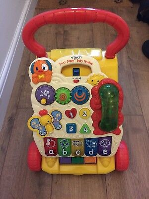 Vtech First Steps Baby Walker, complete and in good used condition.