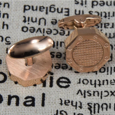 Bouton de manchette style Cufflinks royal oak OFFSHORE NAUTILUS rose gold AP