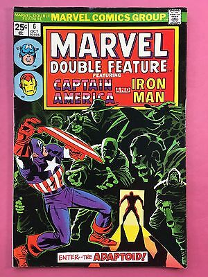 Marvel Double Feature - Captain America, Iron Man - Marvel Comics - N.6 Oct FN +
