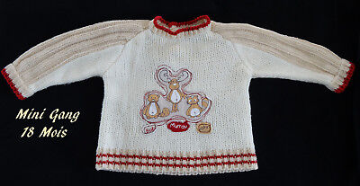 Pull Mini Gang Taille 18 Mois