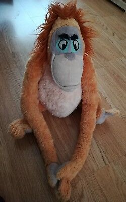 The Jungle Book Disney King Louie Monkey Orangutan Large Soft Plush Toy