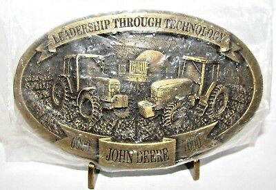 John Deere 7000 6000 Series Tractor 1992 Intro Belt Buckle  6200-6900  7200-7800