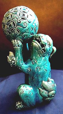 Chinese Large Fo/Fu Dog/Lion Turquoise