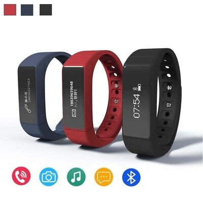 2018 Sleep Fitness Tracker I5 Plus Smart Wristband Bracelet Smartband Bluetooth