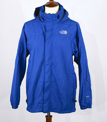The North Face Hyvent Blue Hooded Rain Jacket Youth Boys XL
