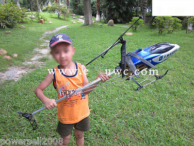 New Blue Length 130CM Remote Control Plane Helicopter Model Children Toys