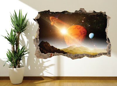 Space and Planets Saturn Rings Solar System wall sticker wall mural (19033839)
