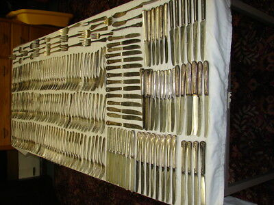 Large Lot of Silverplate Forks & Knives - Butter Serving Crafts Jewelry & MORE