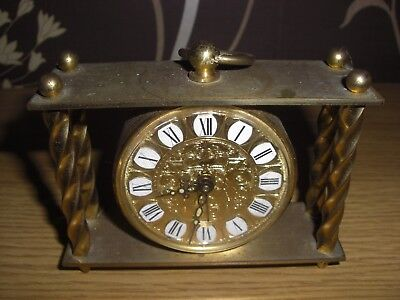 Pretty VINTAGE MAUTHE ALARM CLOCK. Working order.