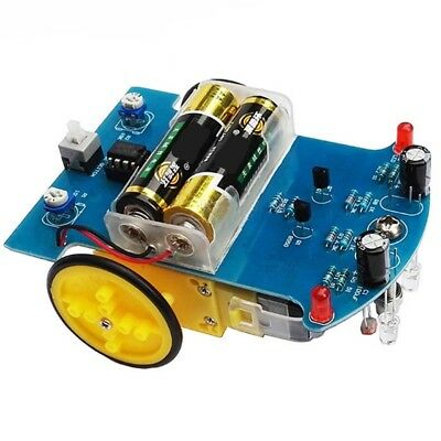 Smart Car 2WD Tracking Robot Car Chassis DIY Kit Reduction Motor Set For Arduino