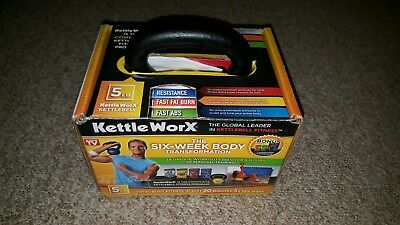 Kettle Worx Six-Week Body Transformation ( 6 DVD Set with a 5 LBS Kettle Bell )