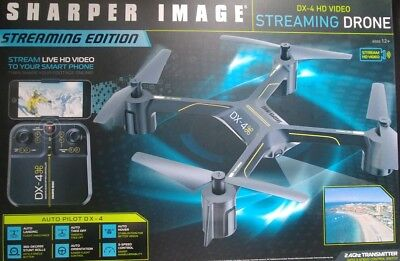 Sharper Image Drone Dx 4 Hd Video Streaming Drone 3999 Picclick