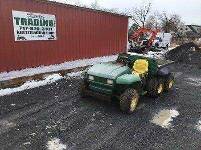 1998 John Deere 6x4 Gas Utility Vehicle. NO RESERVE!!