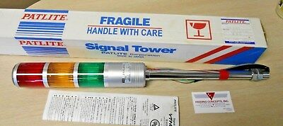 Patlite Stf-312T Multi-Stack Signal Tower Light New In Box!