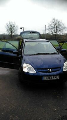 2003 Honda Civic 1.6 VTEC AUTO  5 door (Good condition)