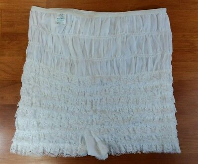 MALCO MODES PARTNERS PLEASE Square Dance Ruffle Lace Sissy Panties Bloomers L