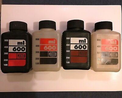 JOBO 600ml Chemical Storage Bottles (Set of 4) - For CPE2 - Great Condition
