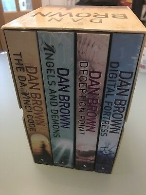 Dan brown Box Set Of 4 Books
