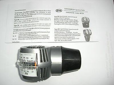 Air Flow Balancer/syncrhonometer Suitable For Throttle Bodies 40.45 And 48Mm