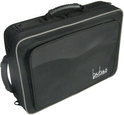 Double Clarinet Case back pack straps Wood shell Frame