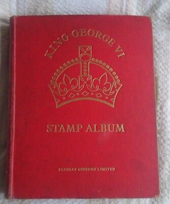 Complete SG King George V1 Crown Stamp Album +100s stamps. NOT ALL SCANNED. KGV1