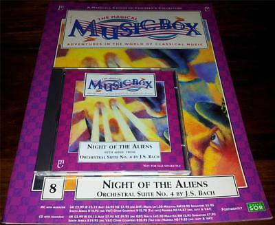 Magical Music Box #8 - Night Of The Aliens - Book & Cd - Js Bach: Suite No.4