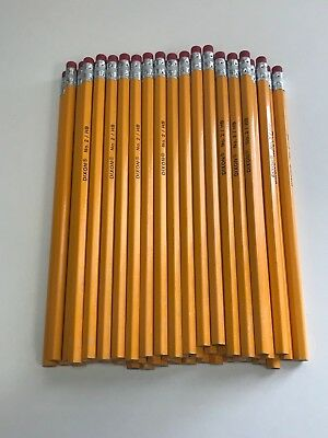 Dixon No. 2 Yellow Pencils, Wood-Cased, Black Core, 50-Count (14412)
