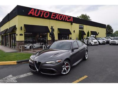 "2017 Alfa Romeo Other Quadrifoglio 2017 Alfa Romeo Giulia Quadrifoglio Automatic 4-Door Sedan 505HP 19"" WHEELS"