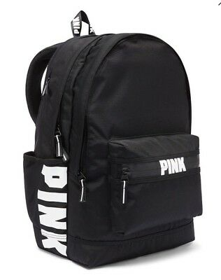 Victorias Secret PINK CAMPUS BACKPACK - PURE BLACK - NWT