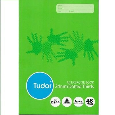 Tudor A4 Exercise Book 24mm Dotted Thirds 48 Page 140921