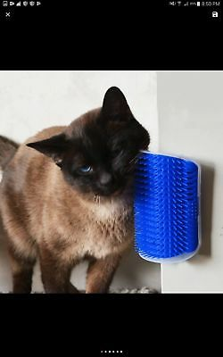 KIMHOME Pet Products For Cats Brush Corner Cat Massage Self Groomer Comb Brush W