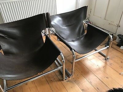 Rare Mid Century Modern Rodney Kinsman T1 OMK Chairs Vintage Retro 50s 60s 70s