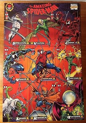 The Amazing Spiderman Promo Card for the1st Edition of the Marvel Cards1994.